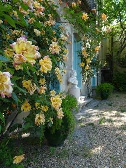 Les jardins de l'hôtel Bergé