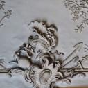 Détail d'un plafond de l'hôtel Bergé
