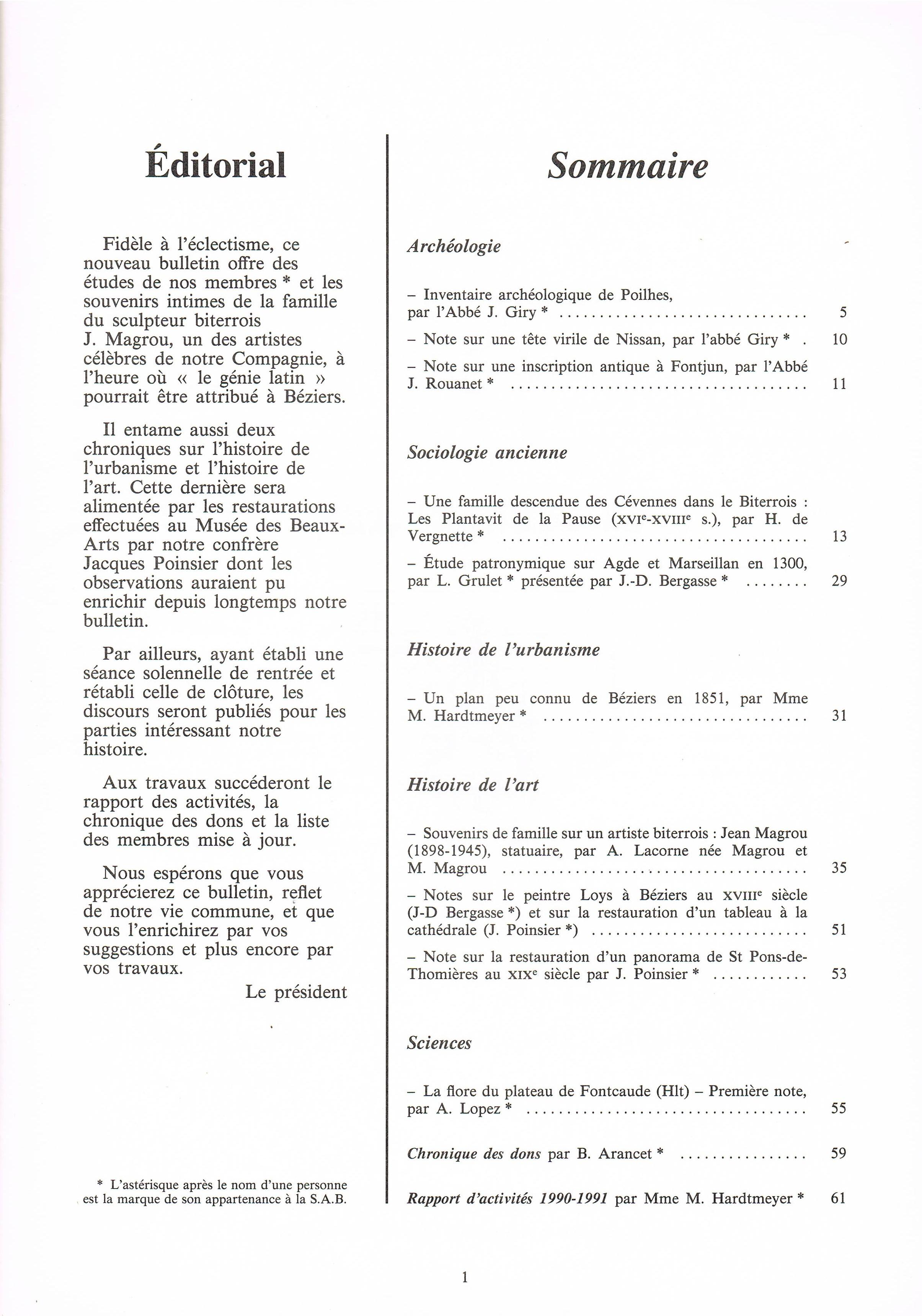 Bulletin_1990_1991_sommaire