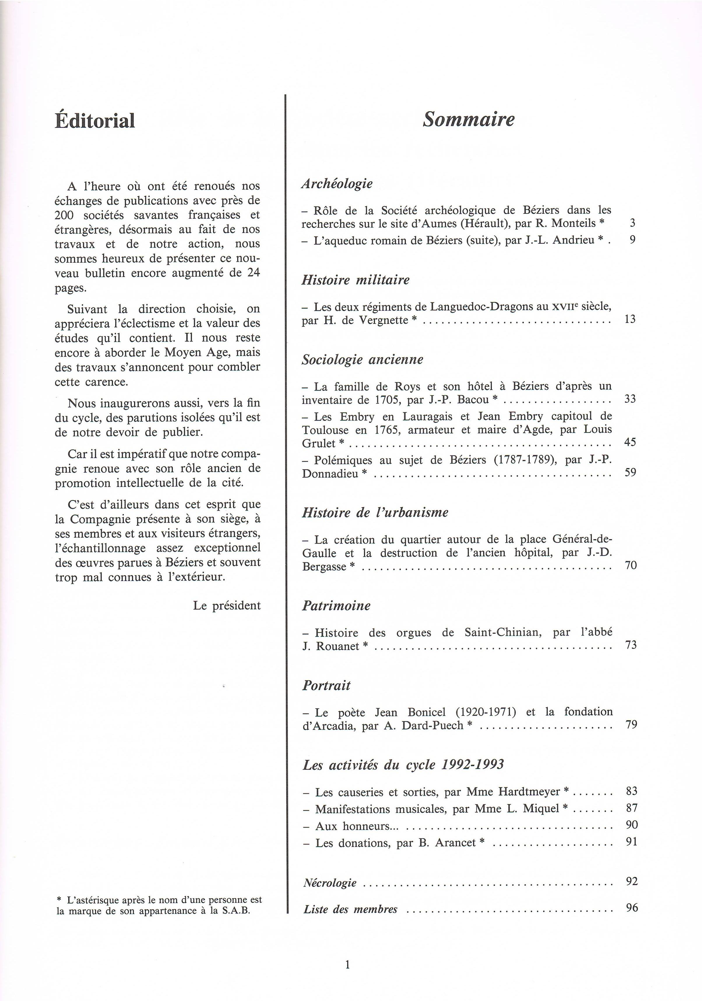 Bulletin_1992_1993_sommaire