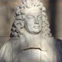 Buste de Paul Pellisson, écrivain biterrois et membre de l'Académie française (1624-1693)